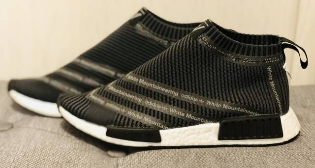 wholesale dealer 75b85 ca247 Adidas Nmd City Sock X White Mountaineering Size 11