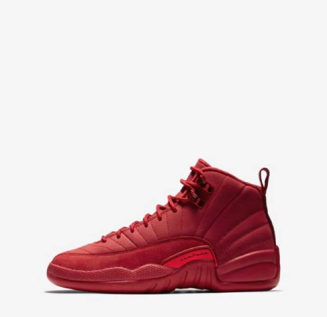 ef2260088d84a9 Air Jordan 12 Retro Bulls Gym Red (Gs) Size 3.5-7