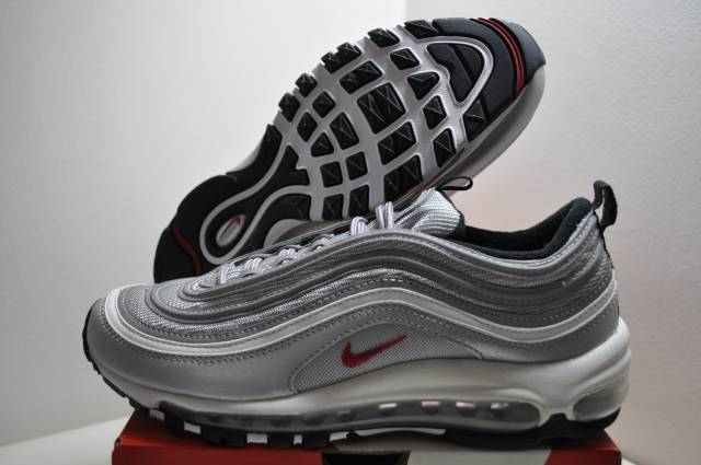 many fashionable amazon utterly stylish Nike Air Max 97 Silver Bullet Womens Size 8.5 Us 6 Uk 4...