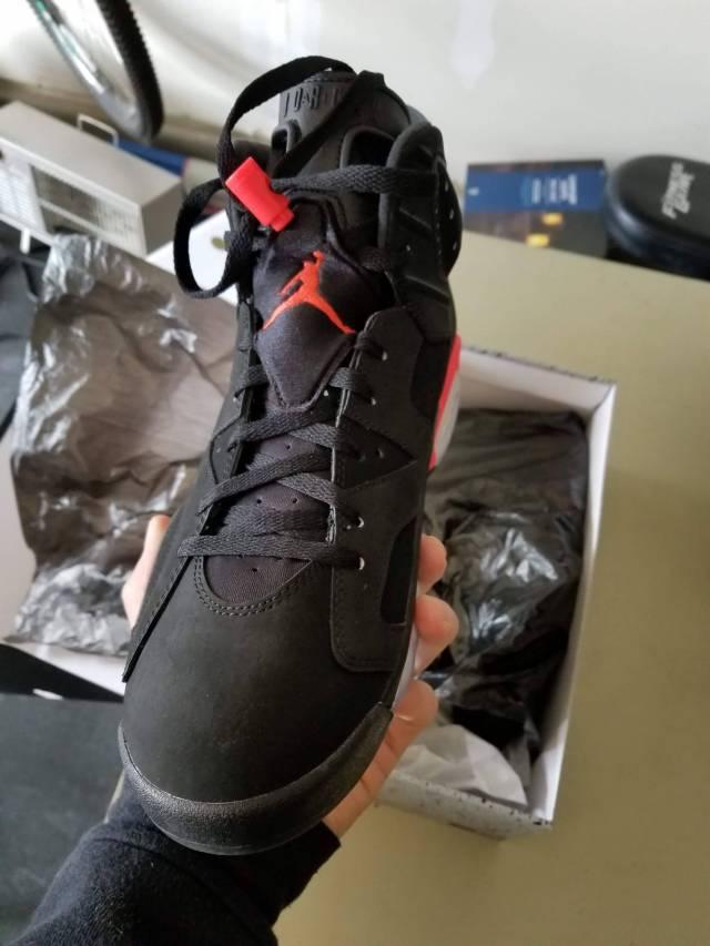 9b03a65e03b7 Air Jordan 6 Black Infrared 2014