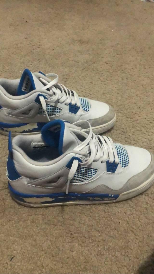 Air Jordan 4 Military Blue | Kixify