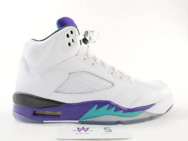 on sale 1297e 0fe0a Air Jordan 5 Grape