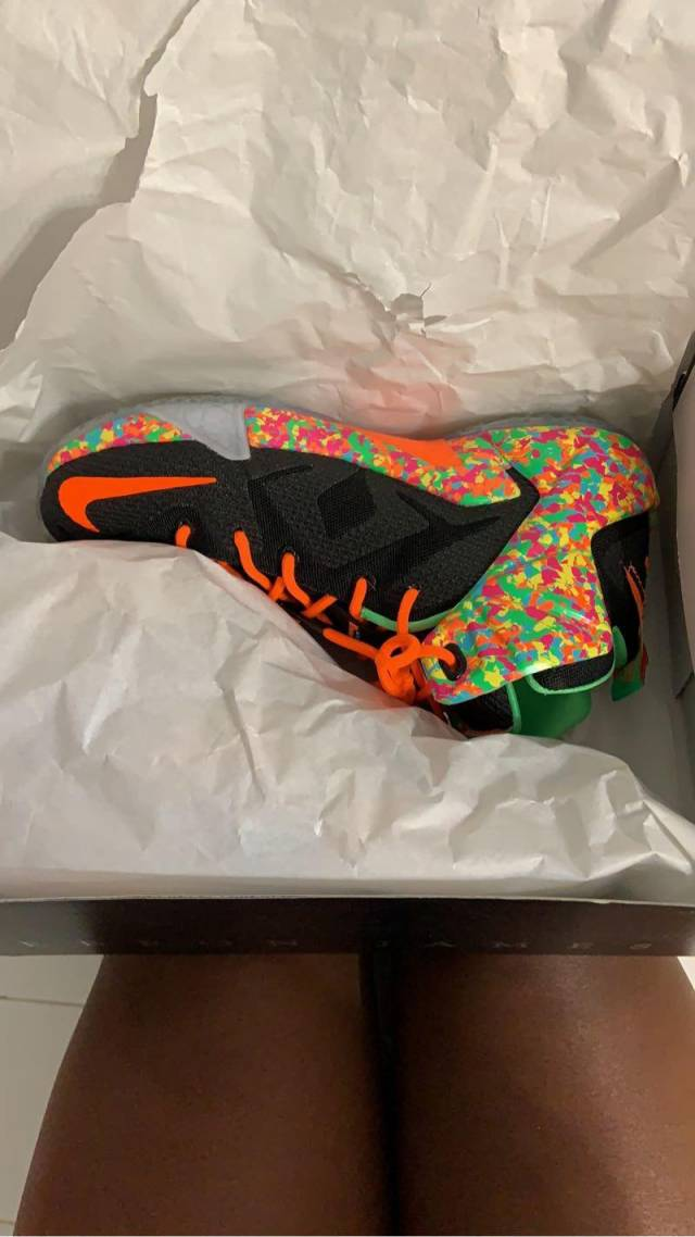 info for f507a 42df8 Nike Lebron 12 Gs - Cereal