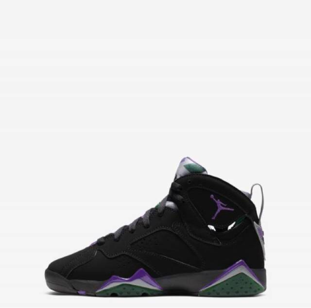 7f35ecb5f6f Air Jordan Retro 7 Ray Allen Bucks Black Purple (Gs) | Kixify ...