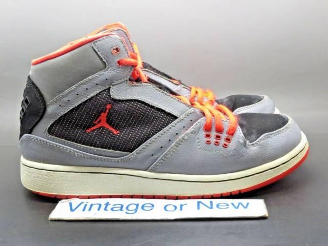 Nike Air Jordan Flight 1 Grey Orange
