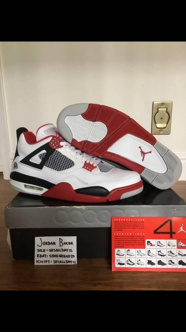 jordans 4's