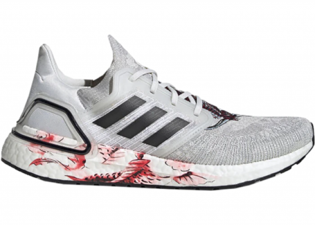 Adidas Ultra Boost 20 Chinese New Year White (2020) Men...