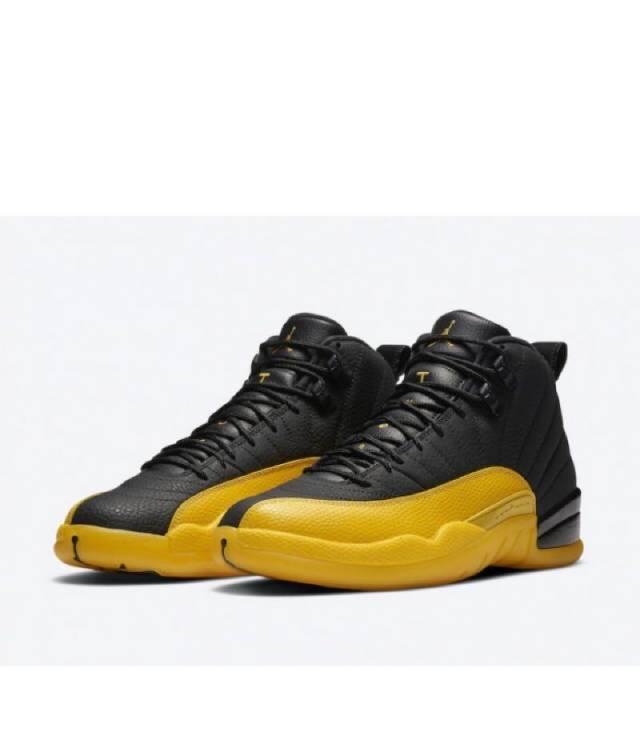 Air Jordan 12 Retro University Gold Black Mens Kixify Marketplace