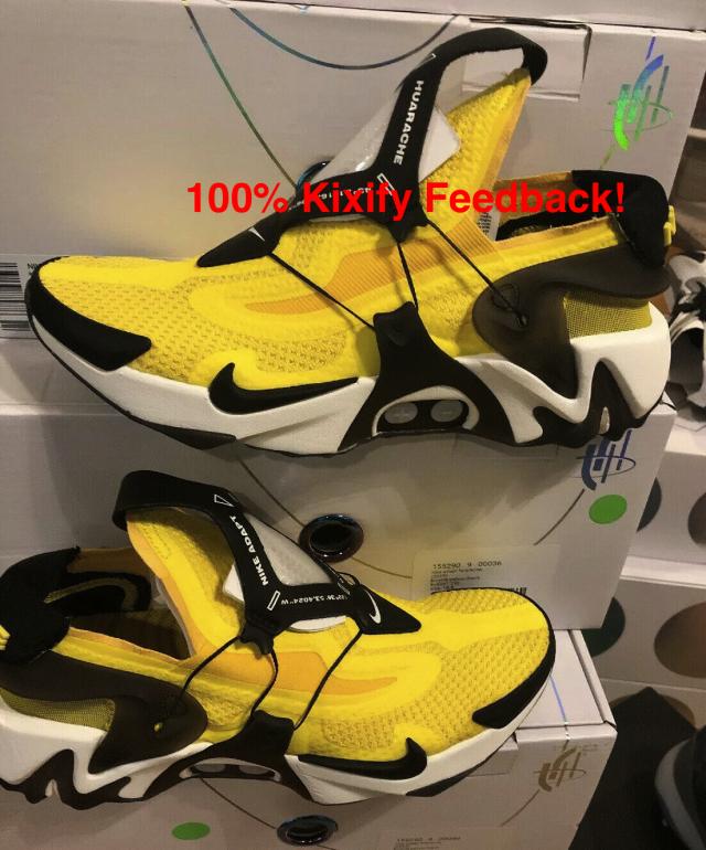 Nike Adapt Huarache Opti Yellow Kixify Marketplace