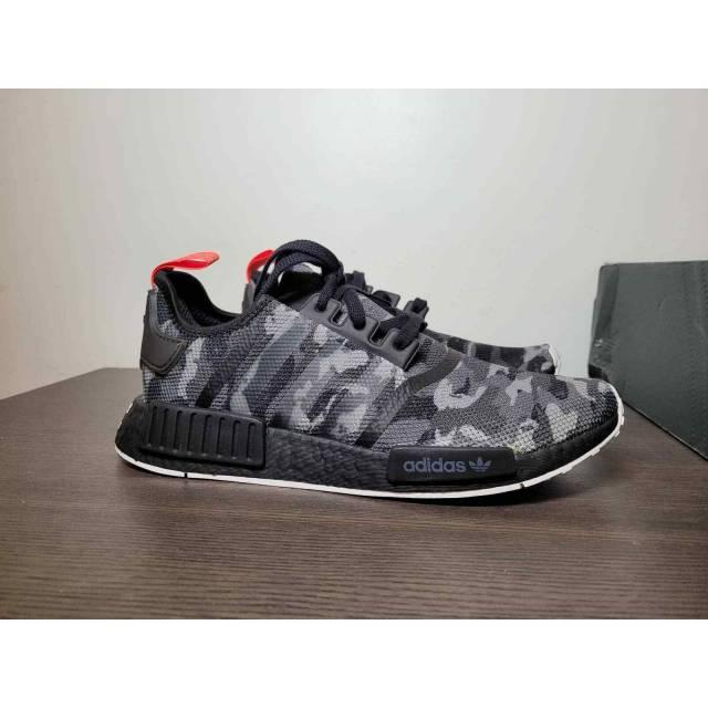 Men Adidas Nmd Nyc Camo Black Red G28414