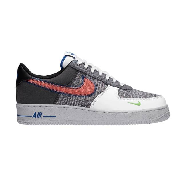 Nike Air Force 1 Low (Recycled Jerseys Pack/ Grey White/ Spo ...