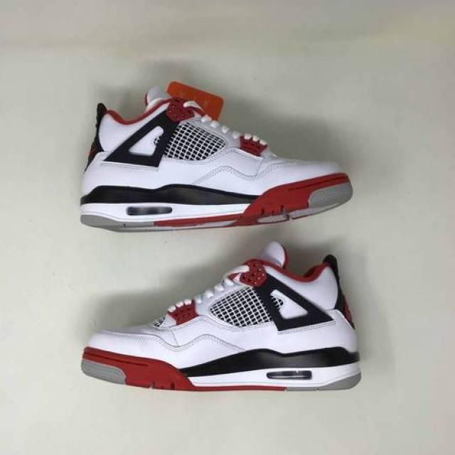 Air Jordan 4 Og Fire Red 2020