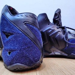 Ds lebron 11 denim ext sizes 8...
