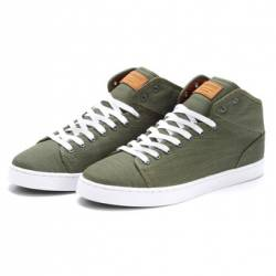 Supremebeing dpm pave mid-tops...
