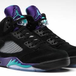 Air jordan 5 black grape ds new