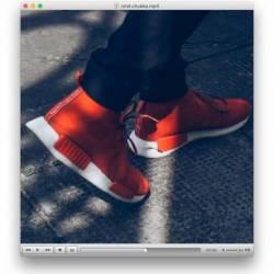 Adidas nmd red chukka s79147