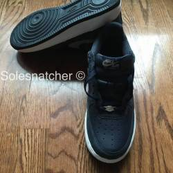 Nike air force one (1) obsidia...