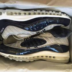 Supreme x nike air max 98 us11