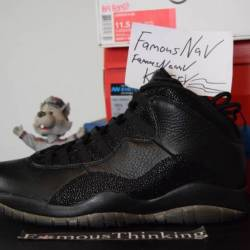 Air jordan 10 ovo black free s...