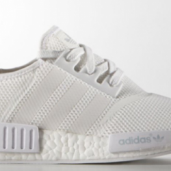Adidas nmd all white monochrom...