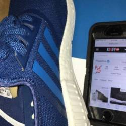 Adidas nmd blue size 11