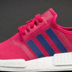 Adidas womens pink purple nmd