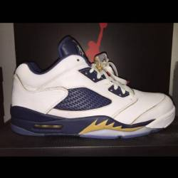 Retro 5 low dunk from above