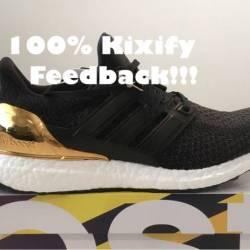 Adidas ultra boost ltd gold me...