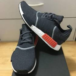 Adidas nmd r_1 grey orange cha...