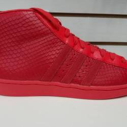 Adidas pro model tomato red
