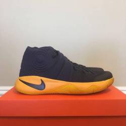 Kyrie 2 yellow blue