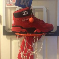"""Ewing 33 mid """"red suede"""""""