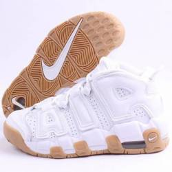 Nike air more uptempo white gu...