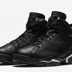 Air jordan 6 black cat black b...