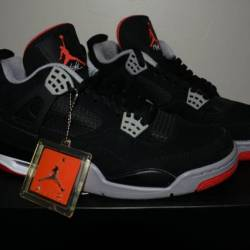 Air jordan black cement 4