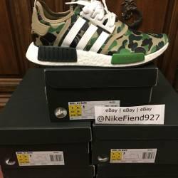 Adidas nmd r1 bape green camo ...