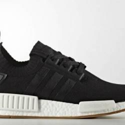 Adidas nmd r1 black gum (size 9)