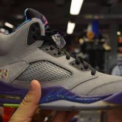 Jordan 5 bel air size 9 pre owned