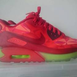 Nike air max 90 ice gym red si...
