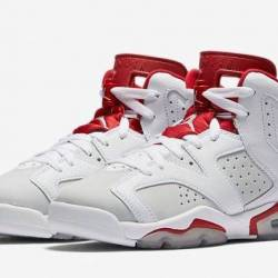 Air jordan 6 alternate white p...