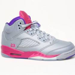 Air jordan 5 gs - cement grey ...