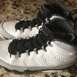 Air jordan retro 9 baron size ...