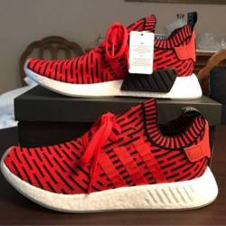 Adidas nmd r2 core red size 11.5
