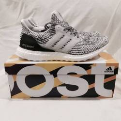 Mens oreo / zebra addidas 3.0 ultraboost running shoe size 8.5