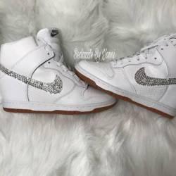 Nike sky dunk bling