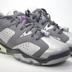 Air jordan 6 low grey violet