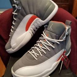 Air jordan retro 12 cool grey ...