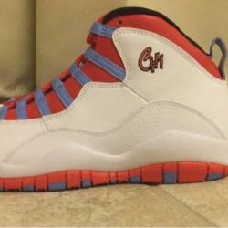 Air jordan 10 - chicago flag