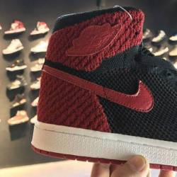 "Air jordan 1 high flyknit ""bre..."