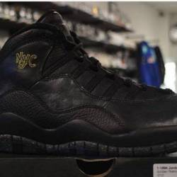 Jordan 10 nyc size 8 pre owned